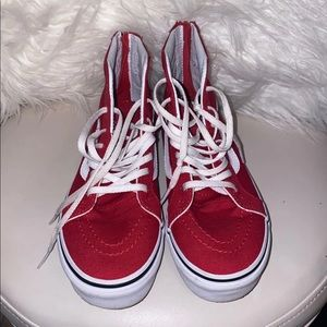 Red Children Vans